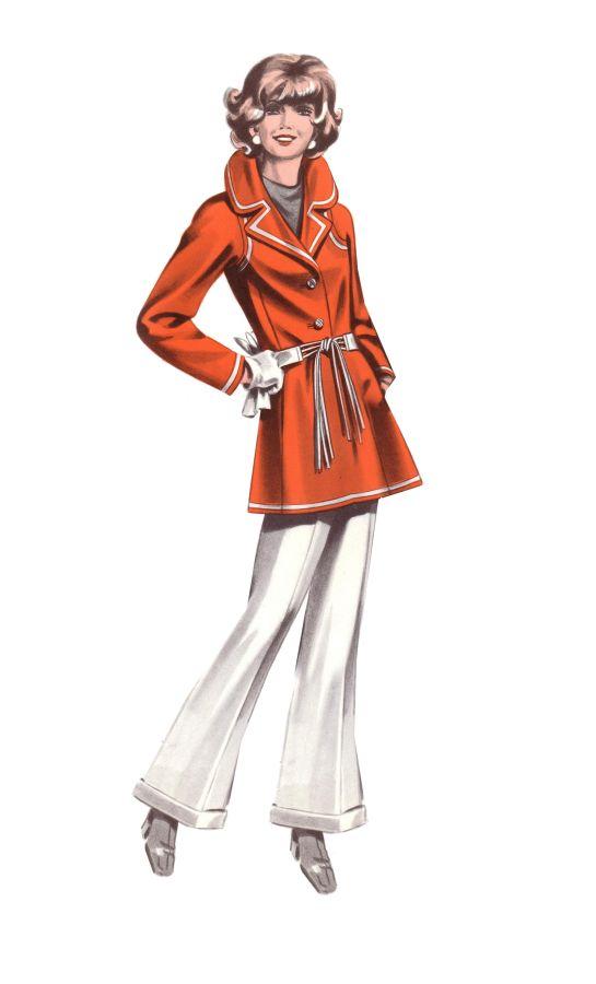 1974 Fashion Design Women S Fashion Skirts And Jackets