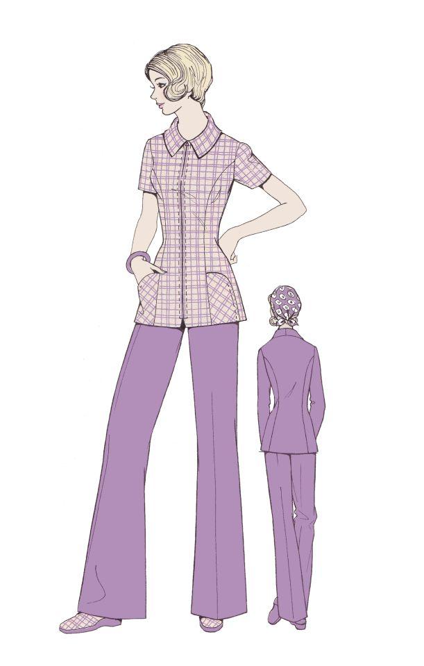 Purple Shirts Women