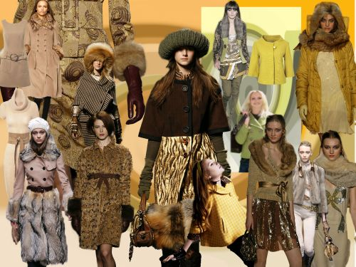 Trends Fashion Mood Boards Colours Tone Collages Autumn