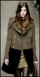 7acce5e258 Burberry Prorsum. The main women's fashion coat trends of autumn ...