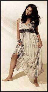 0226b41cbef Evans Plus Size Autumn 2010 Tiered Maxi Dress. Evans SS10 Ladieswear -  Jewel Maxi Dress - £65 €99.50.