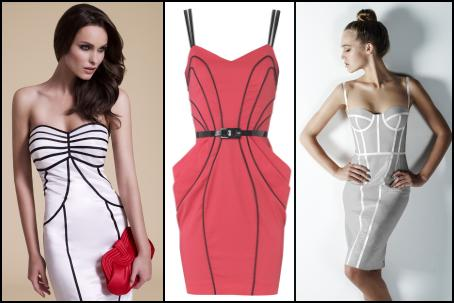 underwear as outerwear  lingerie fashion trends for 2010