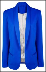 Cobalt And Royal Blue Colour Trends In Womens Fashion 2011