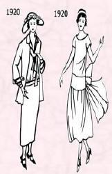 Mode des années 1920