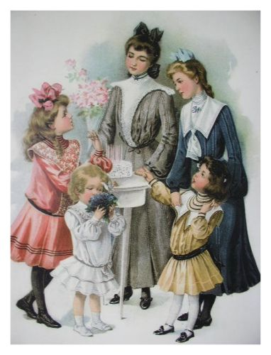Girl S Clothes In C19th Children S Costume History With Pictures