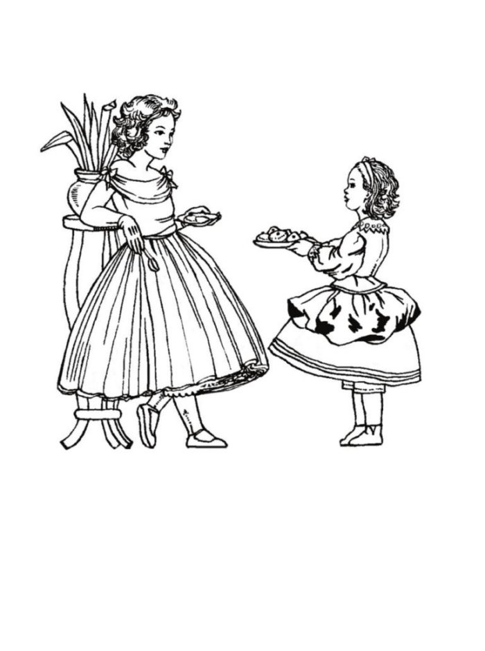 children in costume history 1850 60 mid victorian fashions for 1970s Little Girls Short Dresses colouring in pictures of victorian children s costume 1860