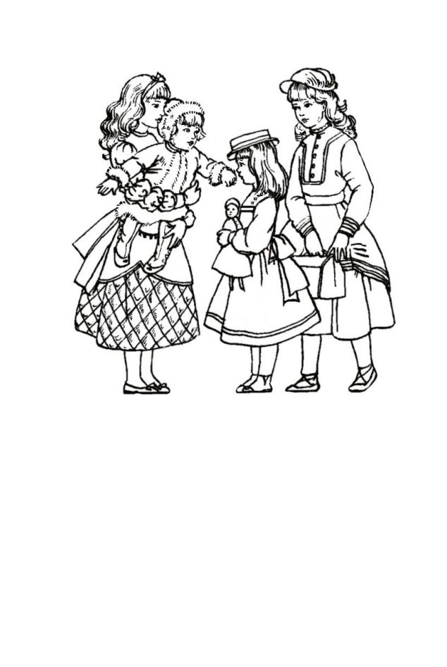children in costume history 1870 80 victorian fashions for girls 1970 Fashion Styles colouring in pictures of mid victorian children s costume 1870 to 1880