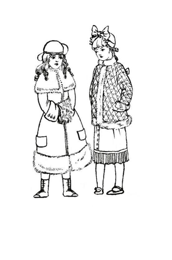 Children In Costume History 1870 80 Victorian Fashions