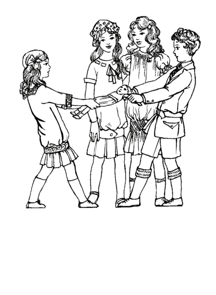 1920s coloring pages for kids | Children in Costume History 1910-1920 Edwardian Fashions ...