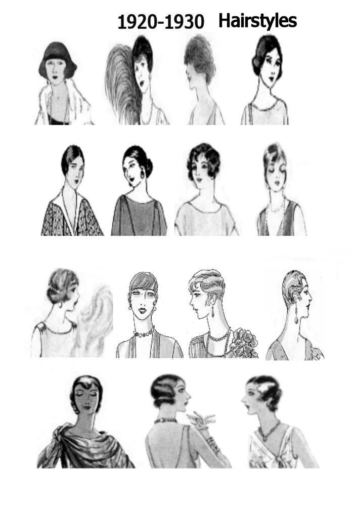 1920s Pictures Hats 20s Hair Style Fashions Fashion History