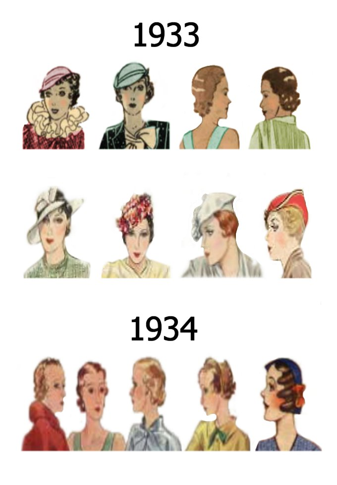 hair styleing hat and hair styles fashion history 1930 1940 fashion 1937