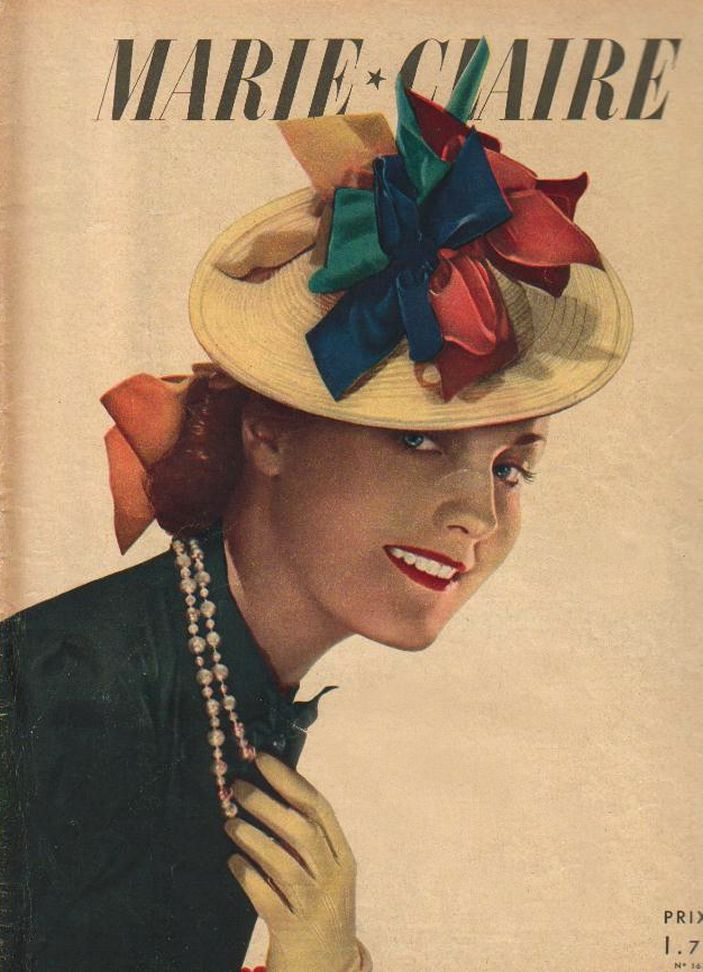 1930s Marie Claire History And Hat Pictures Fashion