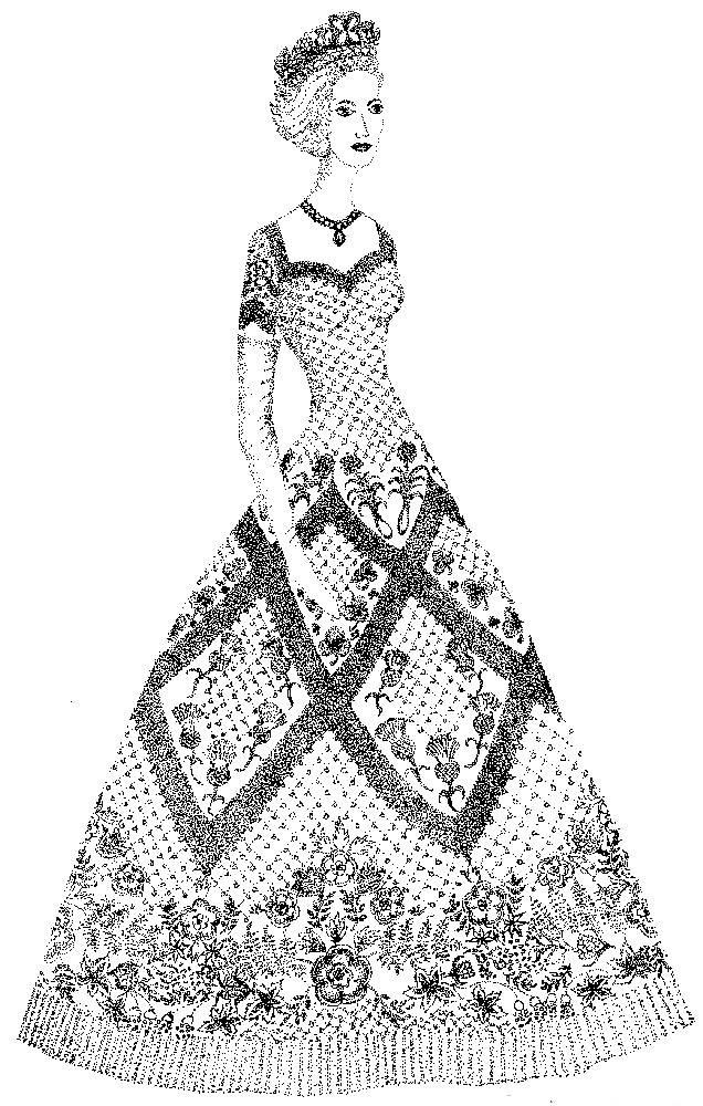 Queen Elizabeth Ii S Coronation Gown Fashion History Costume