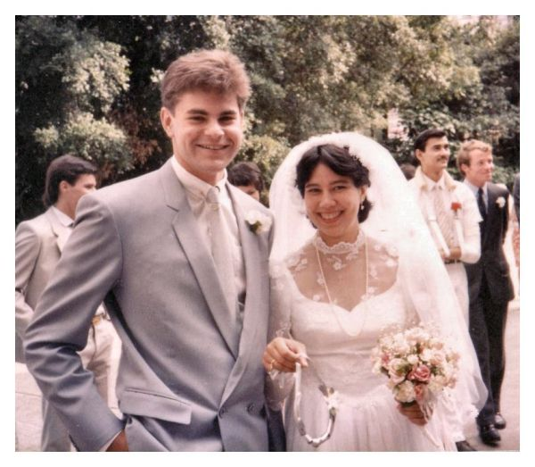 1980s Wedding Dress Pictures Real Bride S Dresses Of 1984