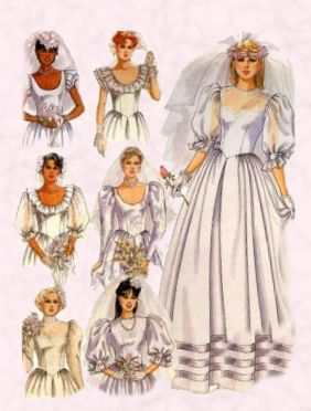 1980s Wedding Gowns