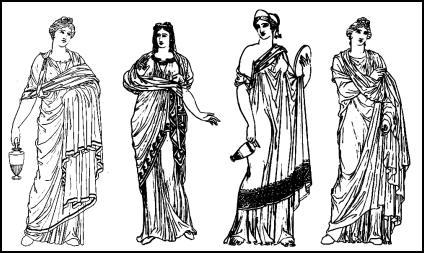 Traditiona Greek Womens Fashion