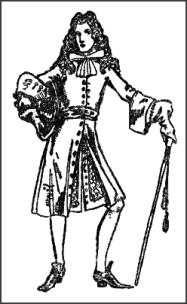 william mary 1689 1702 english history by calthrop fashion Grease Pink Lady From Apparel gentleman wearing bow tied neckcloth late c17th coat