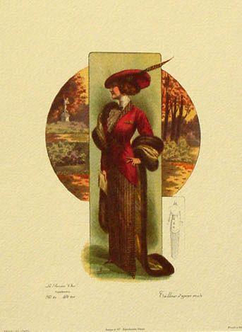 Fashion Plates 1910 1913 Edwardian And Titanic Era Fashion