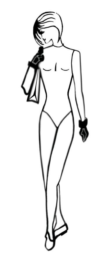 free fashion templates for fashion drawing 3