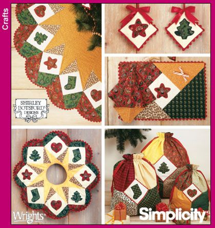 Simplicity Pattern 4414 Xmas Decor in the Home ...