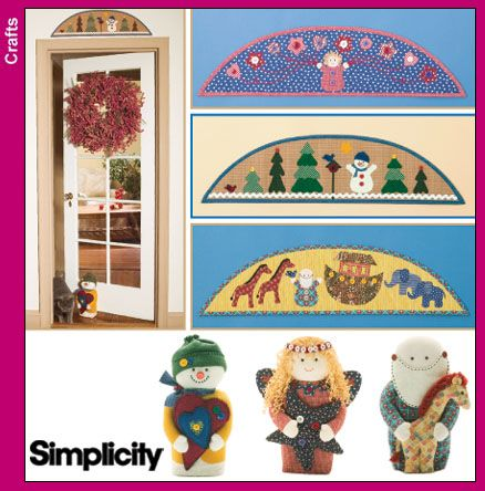 Simplicity Pattern 4423 Xmas Decor in the Home ...