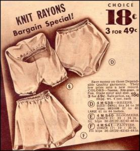 Undergarments History Womens Pants Drawers Briefs And Knickers