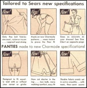 Undergarments History | Women's Pants, Drawers, Briefs and